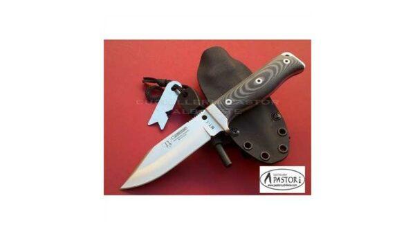Cuchillo Cudeman MT1 Micarta Negra 295MK KYDEX