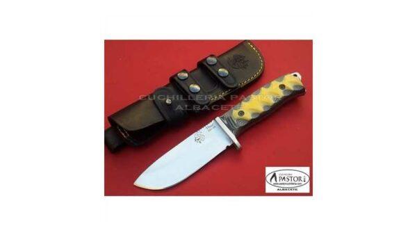 Cuchillo J&V CDA Thor micarta bicolor