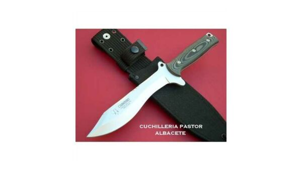 Cuchillo Cudeman Villegas 127N Micarta Negra