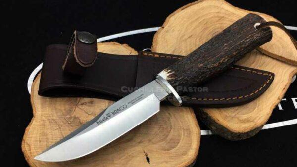 Cuchillo Muela BRACO- 11A Asta de Ciervo