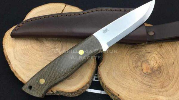 Cuchillo Brisa Trapper 95 O1 Micarta Verde