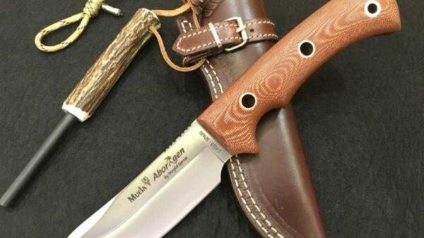Cuchillo Muela Aborigen 12C Canvas Marron