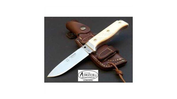 Cuchillo Cudeman MT5 Micarta Blanca 120B