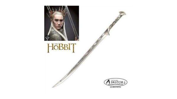 El Hobbit réplica oficial espada del rey elfo Thranduil
