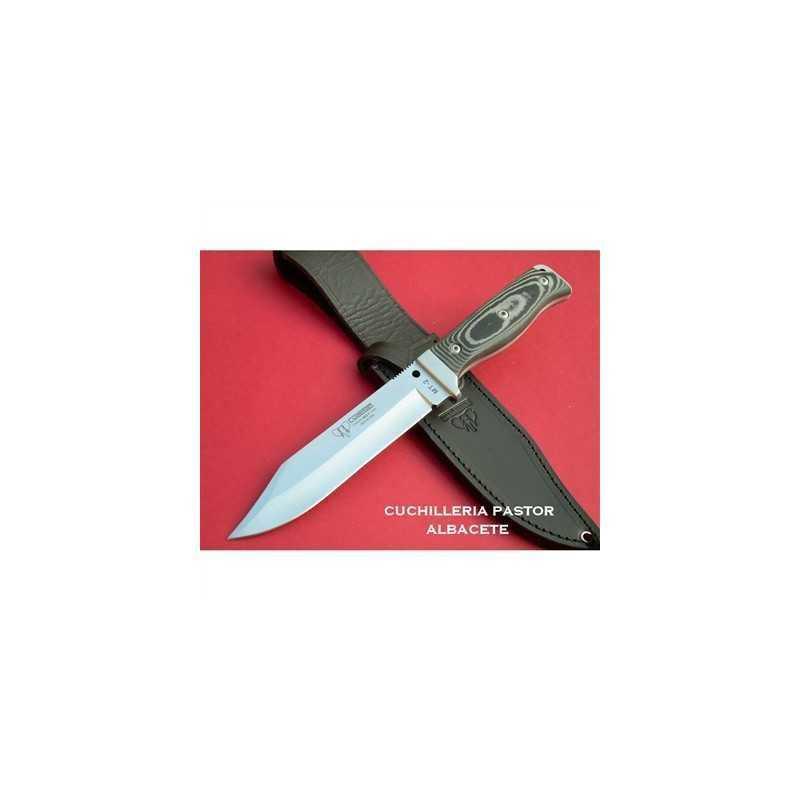 Cuchillo Cudeman MT2 Micarta Negra 296M
