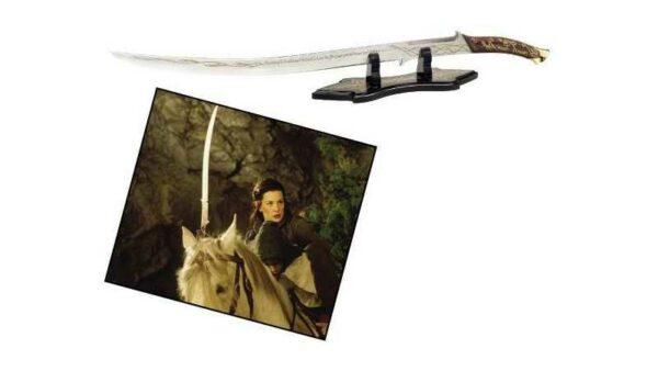 """Espada Hadhafang Arwen """"El Señor de los Anillos""""Con Vaina"""