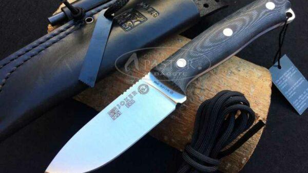 Cuchillo Joker Ursus BS9 CM116 Micarta Negra