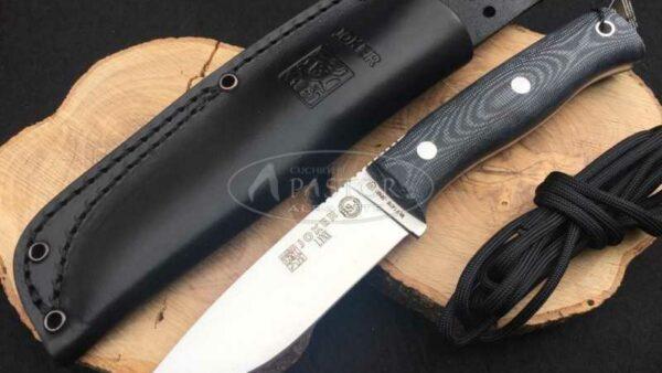 Cuchillo Joker Lynx BS9 CM111 Micarta Negra
