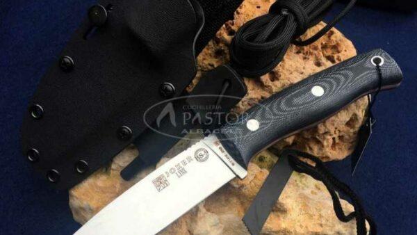 Cuchillo Joker Lynx BS9 CM111-F Micarta naranja
