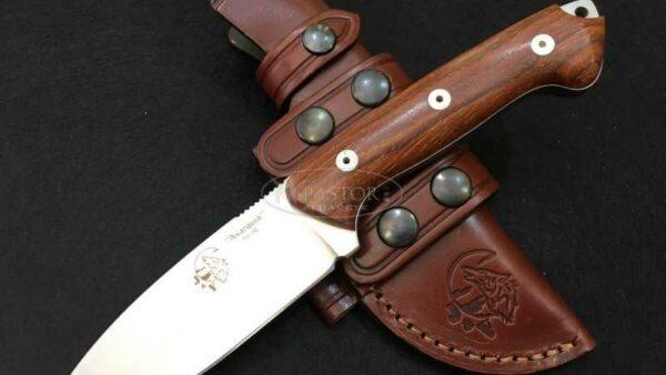 Cuchillo J&V CDA Axarquia madera Cocobolo