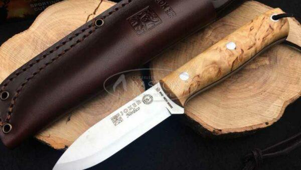 Cuchillo Joker Nordico BS9 Abedul CL115