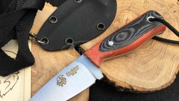 Cuchillo J&V CDA Hobbit Micarta
