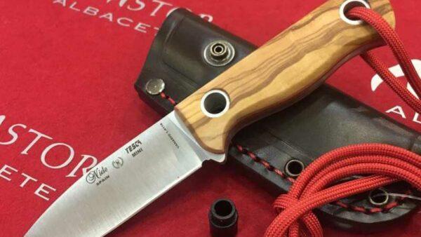 Cuchillo Nieto Yesca Mini 1048O Olivo