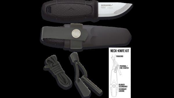 Cuchillo Morakniv ELDRIS Negro + KIT 17430-NE