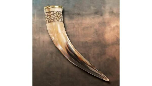 Vaso Cuerno Vikingo de Freya, 33 cms.