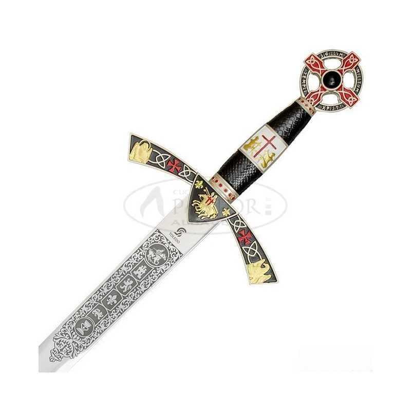 Art Gladius 4112/V Espada Templaria con Funda