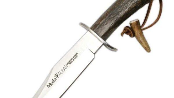 Cuchillo Muela ALBAR-18H Asta de Ciervo