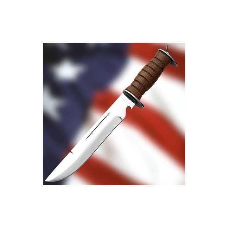 E.G. Waterman US WWII Cuchillo Combate