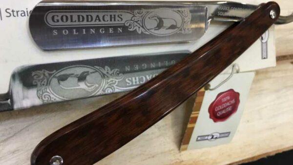Navaja de Afeitar Golddachs Snakewood