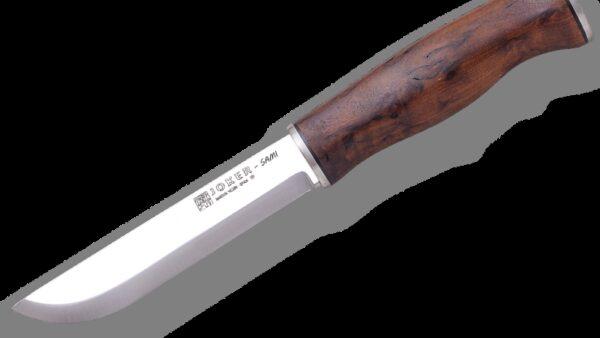 Cuchillo Joker Puukko Sami CL131 Abedul Rizado Thermo