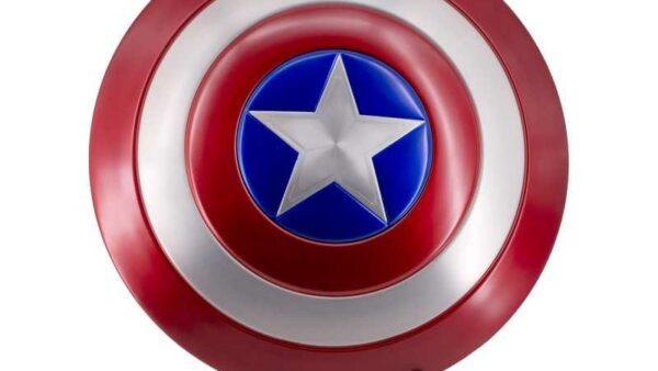 Espectacular Escudo Capitán América S3311 con Expositor