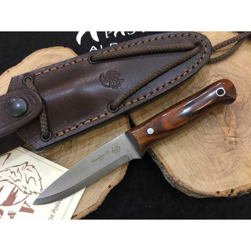 Cuchillo J&V CDA Woodlore XS Cocobolo