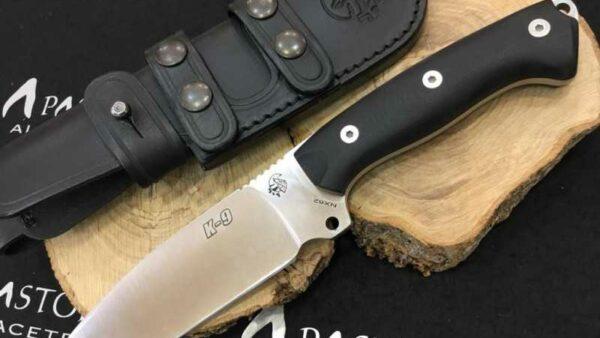 Cuchillo J&V CDA K9 G-10 Funda Piel