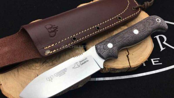 Cuchillo Cudeman 181Y Sanabria Yute Marrón