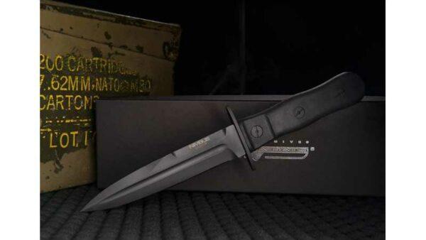 Cuchillo Extrema Ratio NIMBUS OPERATIVO 0240/BLK-OP