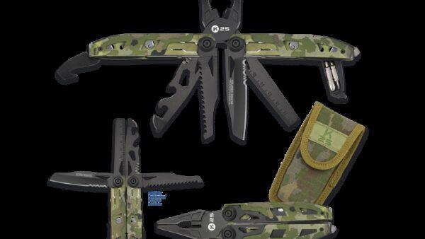 K25 Alicates Tácticos Multiusos 17 Usos