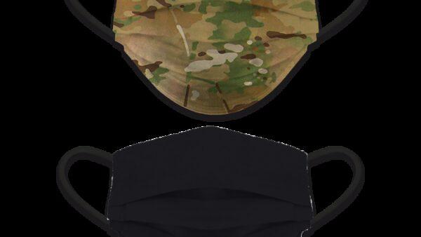 Accesorio Facial Reversible Camo - Negro