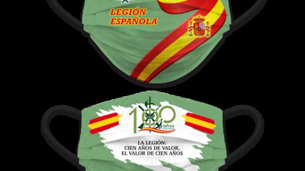 Accesorio Facial Reversible Legión Española