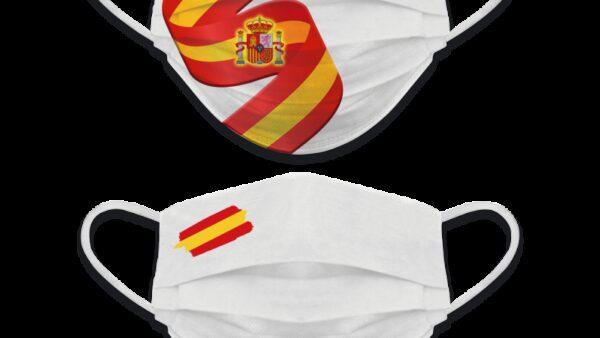 Accesorio Facial Reversible Bandera España