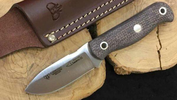 Cuchillo Cudeman Bushcraft Sanabria II Yute Marrón 182-Y