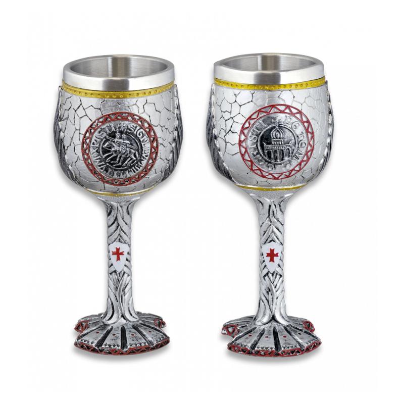 Tole10 Imperial Sigillum Militum Xpisti Taza /Copa