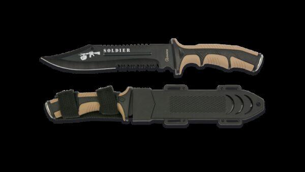 Cuchillo Albainox Soldier 32406 Coyote