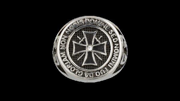 Anillo De Acero Templarios -Steel Rings