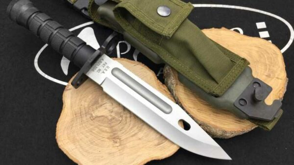 Marto M9-A1 Cuchillo Bayoneta Negro CM200 Unidades Limitadas