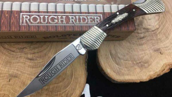 Navaja Rough Rider RR1561 Bolster Stripe
