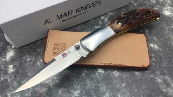 Al Mar Honey Jigged Bone Hawk AMK7002