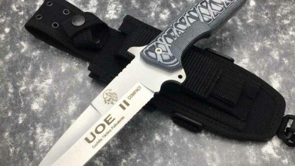 Cuchillo Supervivencia J&V CDA UOE ll Negro 1227-M1
