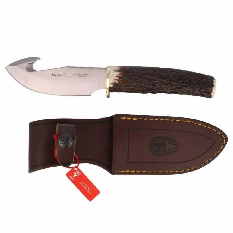Cuchillo Muela Desollador Viper-11A Ciervo