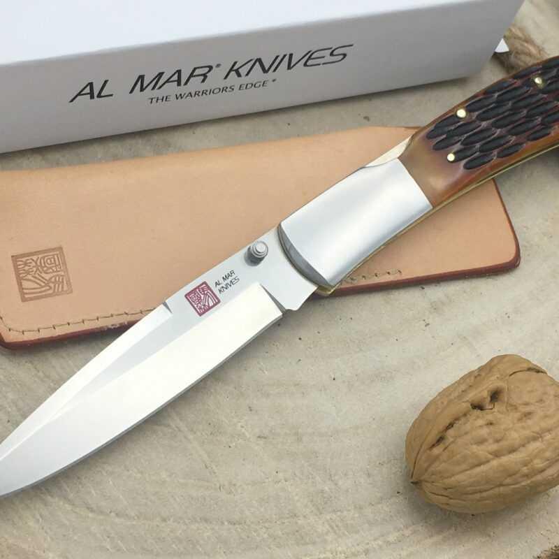 Al Mar Honey Jigged Bone Eagle AMK7006
