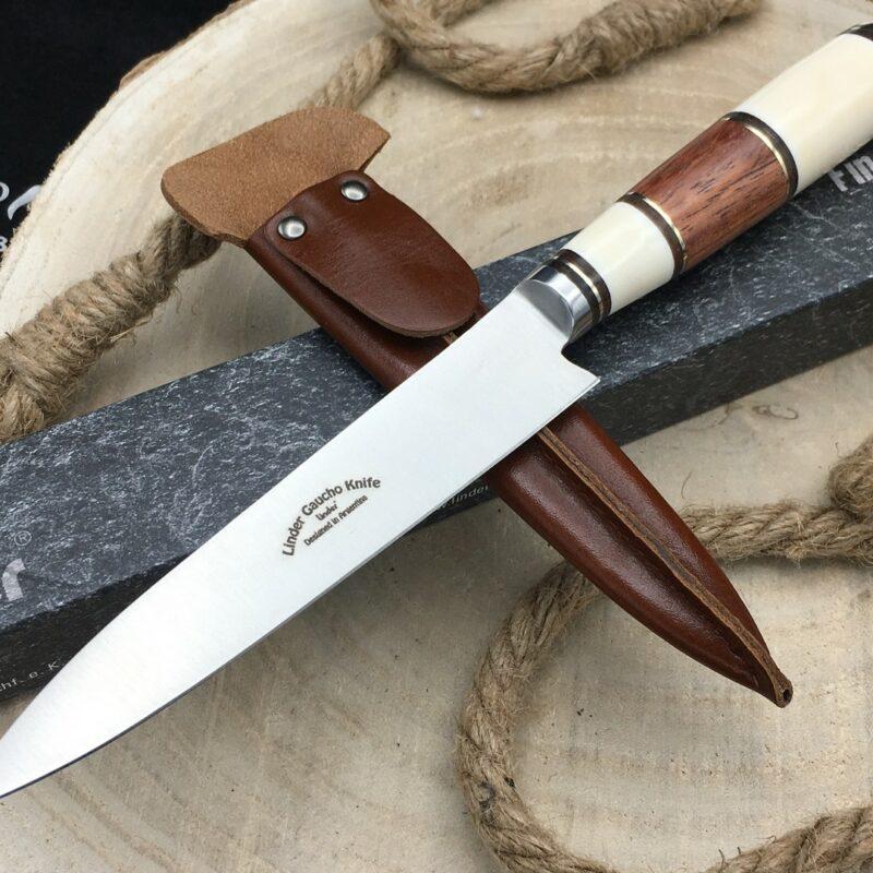 Cuchillo Linder Gaucho 456010 Hueso y Madera