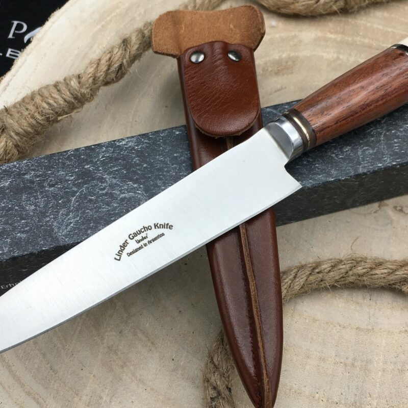 Cuchillo Linder Gaucho 456016 Hueso y Madera