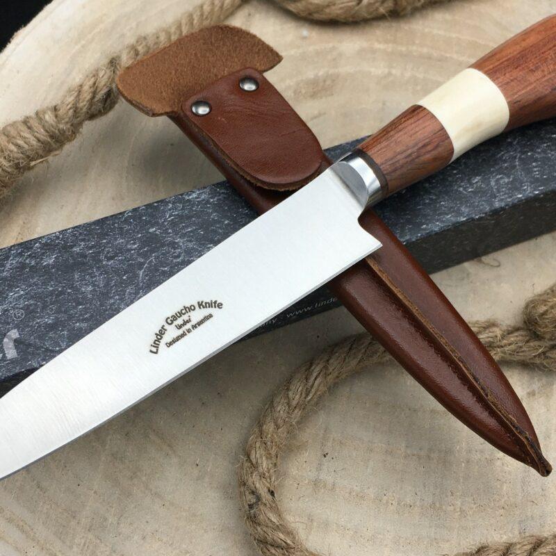Cuchillo Linder Gaucho 456014 Hueso y Madera
