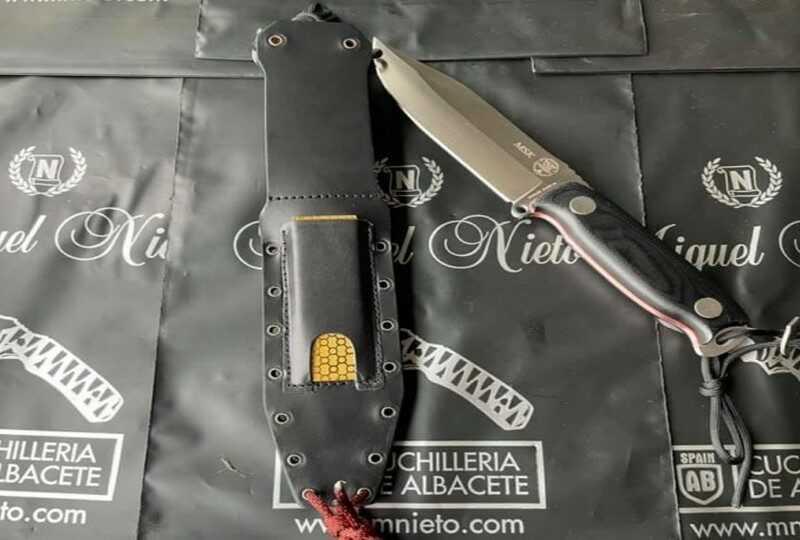 Cuchillo Nieto Supervivencia MSK 5021 G-10