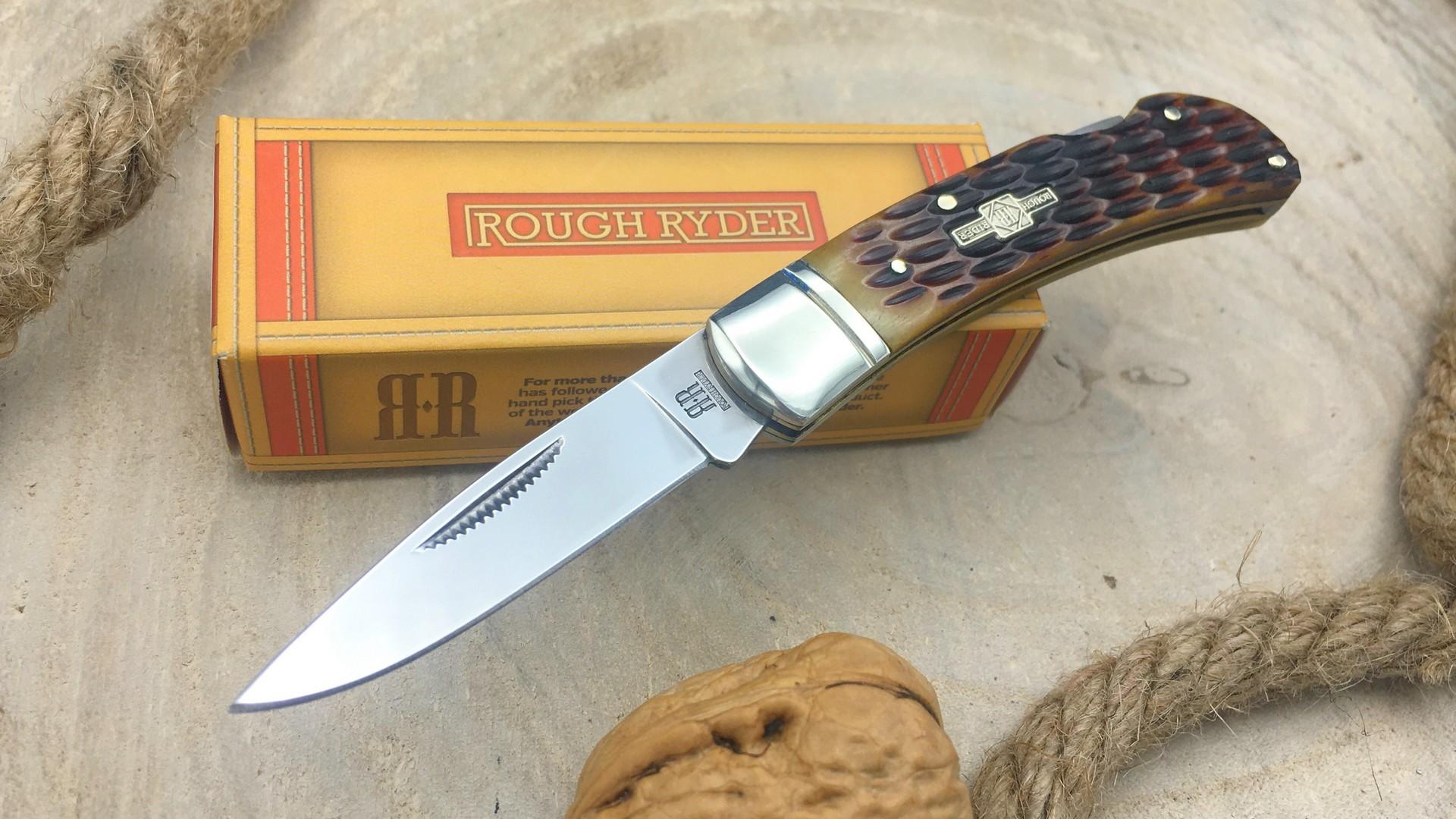 Navaja Rough Rider RR461 Hueso
