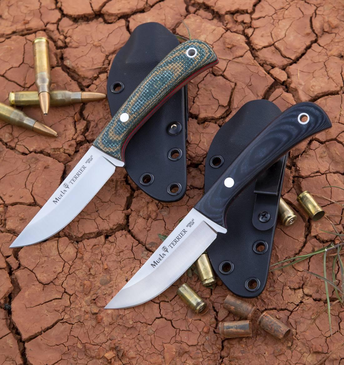 Cuchillo Muela TERRIER- 9G - 9M Kydex
