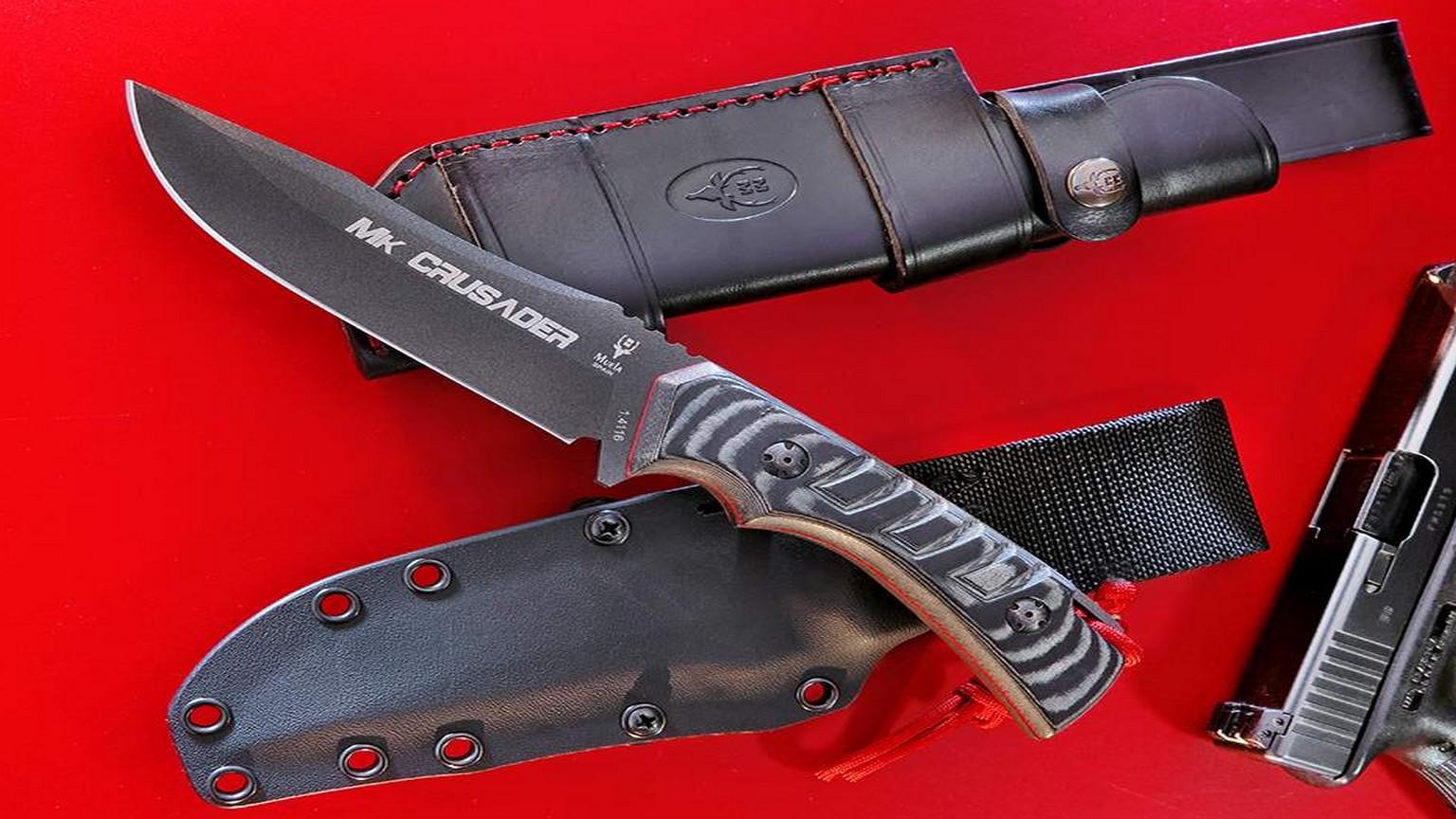 Cuchillo Crusader-13M.N Pavonado